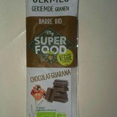 Barre my super food chocolat guarana (Germline)