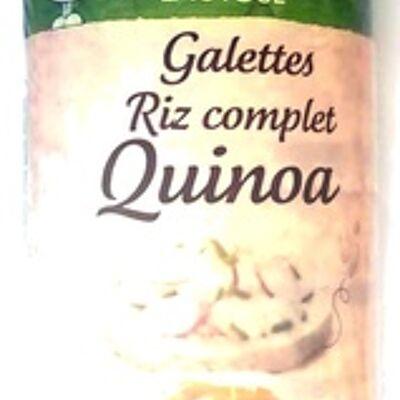 Galette riz complet quinoa (Jardin bio)