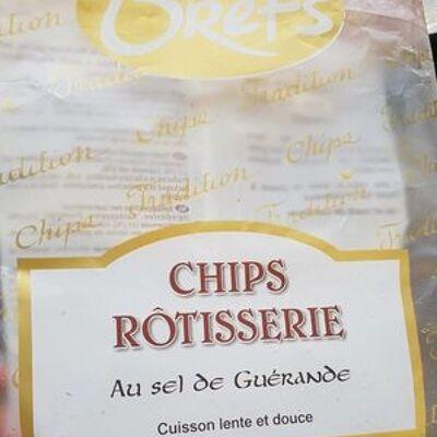 Chips rôtisserie au sel de guérande (Bret's)