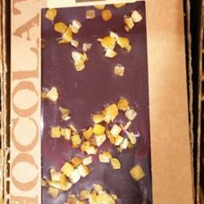 Chocolat noir oranges confites (Bovetti)