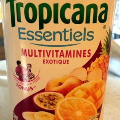 Multivitamines exotique (Tropicana)
