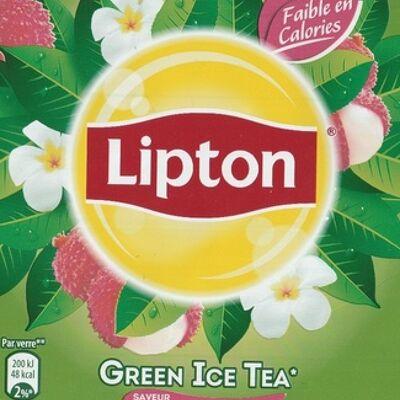 Green ice tea saveur litchi jasmin (Lipton)