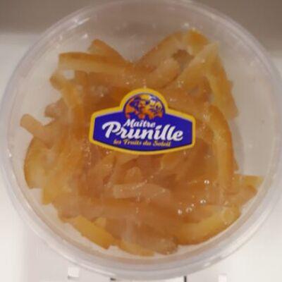 Lamelles d'oranges confites (Maître prunille)