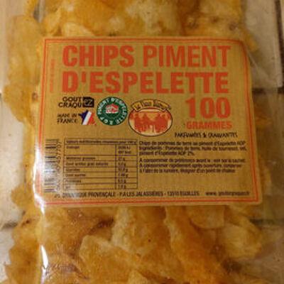 Chips piment d'espelette (Le vieux bistrot)