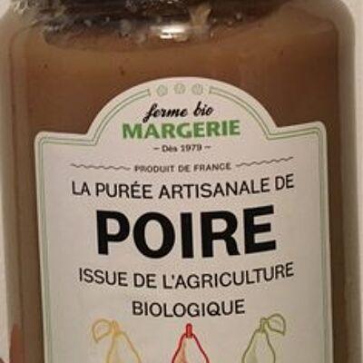 La purée artisanale de poire (Ferme bio margerie)