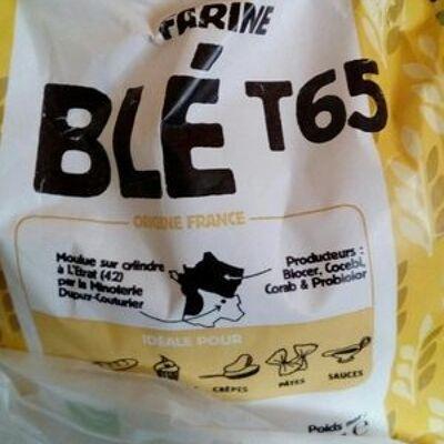 Farine blé t65 (Minoterie dupuy couturier)