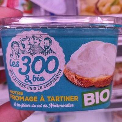 Notre fromage à tartiner (Les 300 et bio)