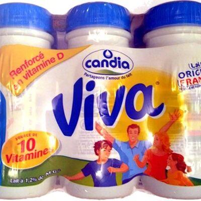 Candia viva lait demi-écrémé uht (Candia)