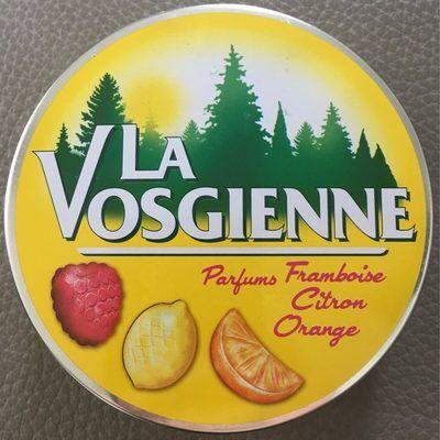 Bonbons aux fruits - framboise citron orange (La vosgienne)