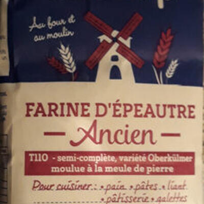 Farine épeautre ancien (Biocoop)