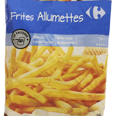 Frites allumettes (Carrefour)