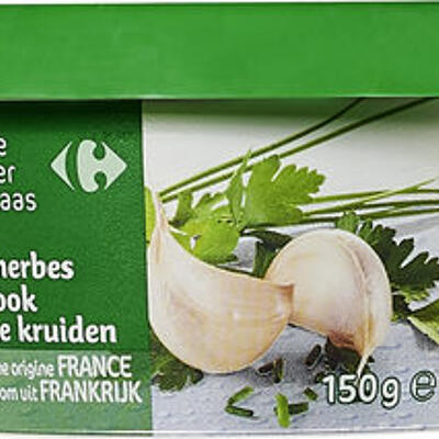 Fromage à tartiner ail & fines herbes (Carrefour)