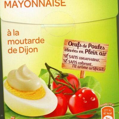 Mayonnaise à la moutarde de dijon (Carrefour)