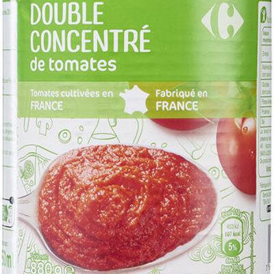 Double concentré de tomates (Carrefour)