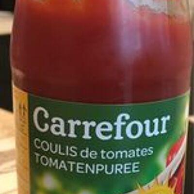 Purée de tomates (Carrefour)