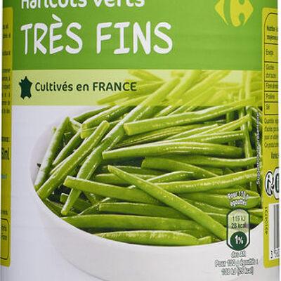 Haricots verts très fins (Carrefour)