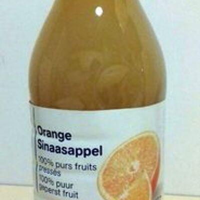 Orange100% fruit pressé (Carrefour discount)