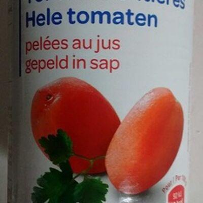 Tomates entières pelées au jus (Produits blancs)