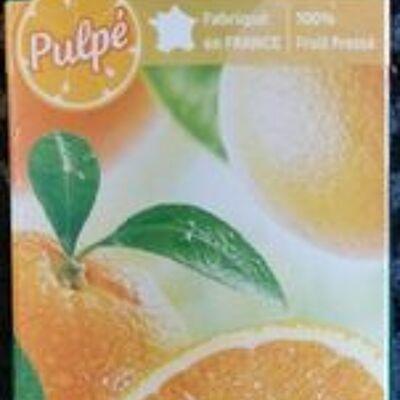 Pur jus orange (Carrefour)
