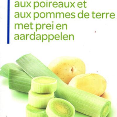 Velouté aux poireaux et aux pommes de terre (Produits blancs)