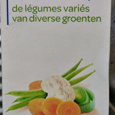 Mouliné de légumes variés (Carrefour discount)