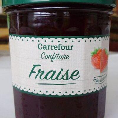 Confiture fraise (Carrefour)