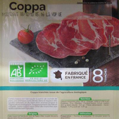 Coppa bio (Carrefour)