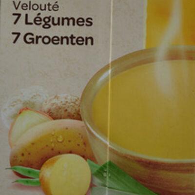 Velouté 7 légumes bio (Carrefour)