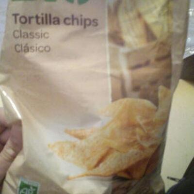 Tortilla chips (Carrefour bio)
