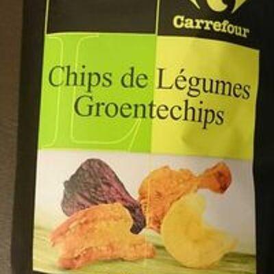 Chips de légumes (Carrefour sélection)
