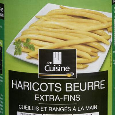 Haricots beurre extra-fins (En cuisine)