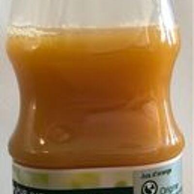 Orange 100 % pur fruit pressé sans pulpe (Carrefour)