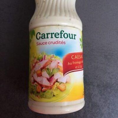 Sauce césar au fromage italien et à l'ail (Carrefour)