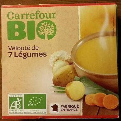 Velouté 7 légumes (Carrefour bio)
