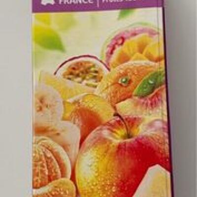 Multifruits, jus à base de concentrés (Carrefour)