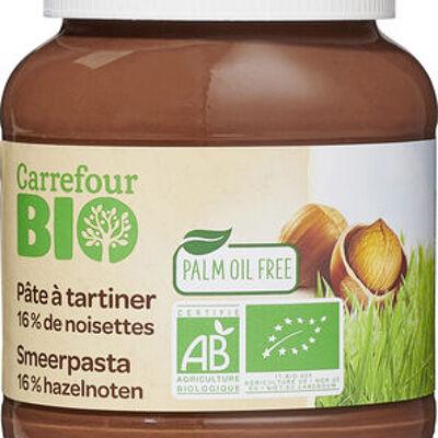 Pâte à tartiner (Carrefour bio)