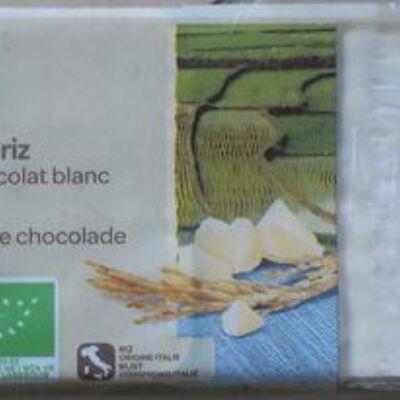 Galettes de riz nappées chocolat blanc (Carrefour)
