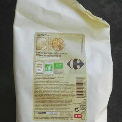 Farine complète de quinoa (Carrefour)