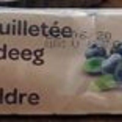 Pâte feuilletée (Carrefour bio)