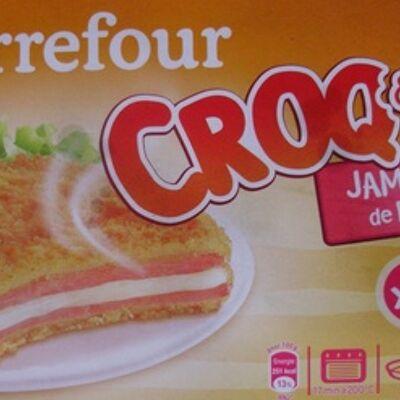 Croq&moi, jambon de dinde (x 2) (Carrefour)