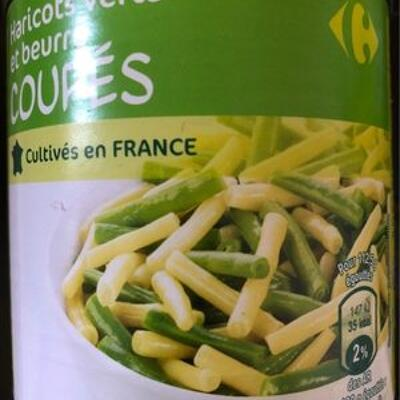 Haricots verts & haricots beurre (Carrefour)