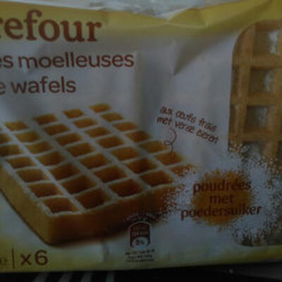 Gaufres moelleuses (Carrefour)