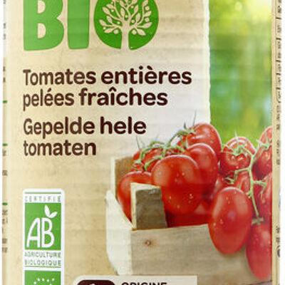 Tomates entières pelées fraîches (Carrefour bio)