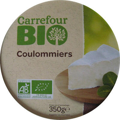 Coulommiers bio (22 % mg) (Carrefour bio)