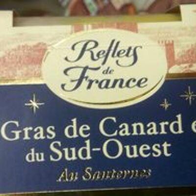 Foie gras de canard entier du sud-ouest au sauternes (Reflets de france)