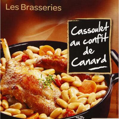 Cassoulet au confit de canard (Carrefour)