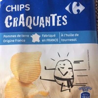 Chips craquantes (Carrefour)