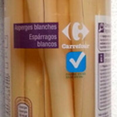 Asperges blanches (Carrefour)