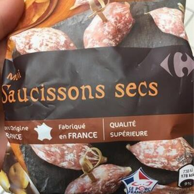 Mini saucissons secs (Carrefour)