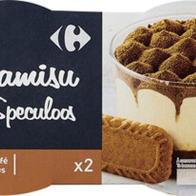 Tiramisu aux speculoos (Carrefour)